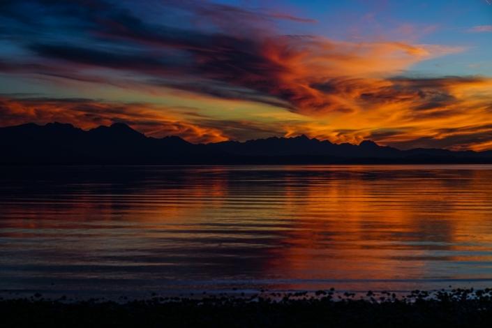 Elias Maier Photography Landschaft Chiemsee Sonnenuntergang