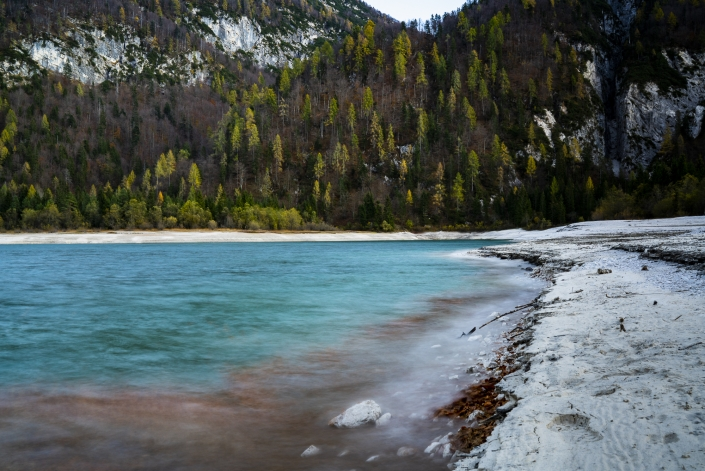 Elias Maier Photography Landschaft Lago di Predil Herbst