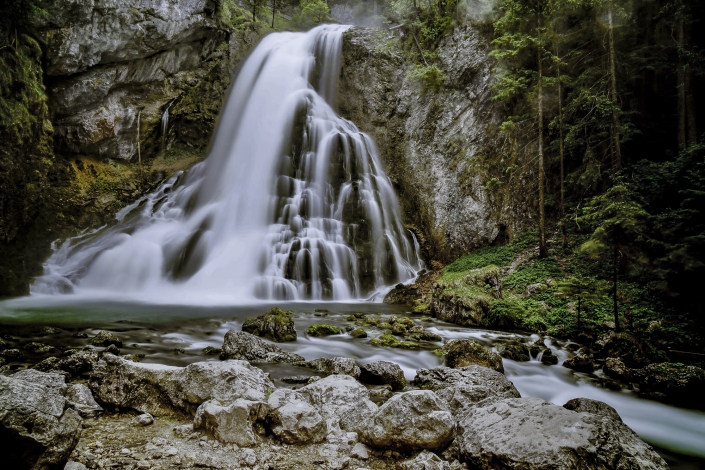 Elias Maier Photography Landschaft Wasserfall Golling